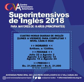 Superintensivos CVA 2018