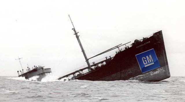 GM sinking  creates Romanian banckruptcy