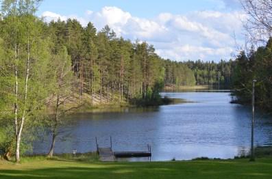 Vallersvik, sjön Skruven