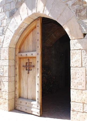 castle doors entrance