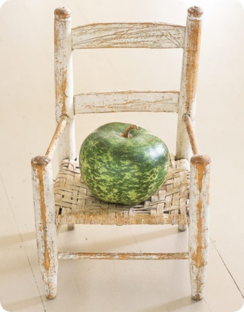 country living green gourd