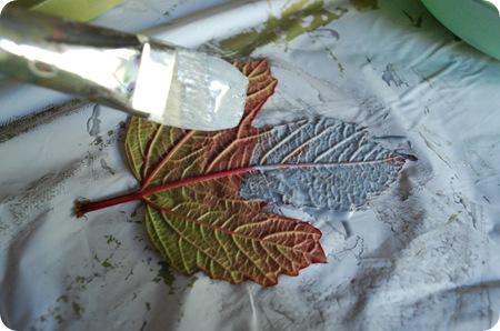 modge podge leaf