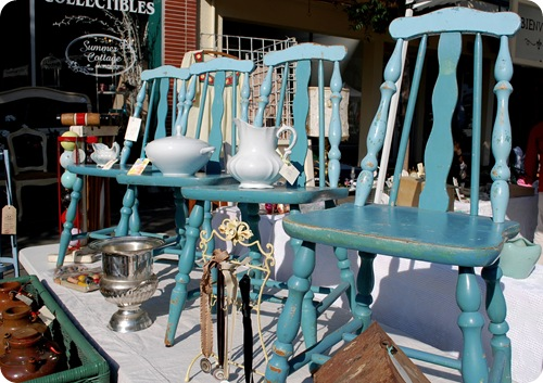 turquoise blue chairs
