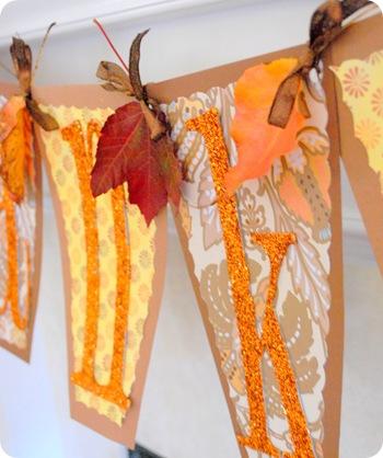 leaves in between