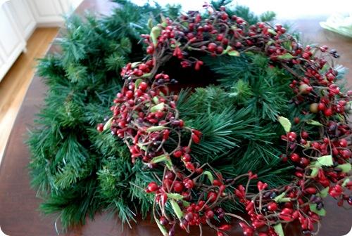 two plain wreaths