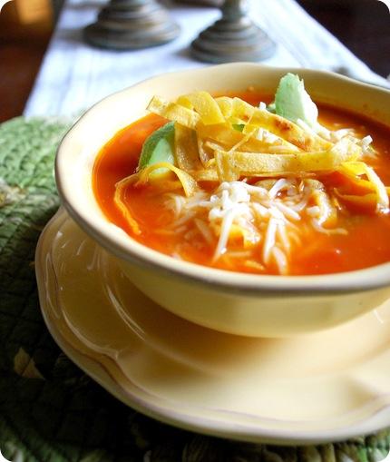 chicken tortilla soup crop