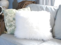 Fuzzy Pillows from a Surprising Source | Centsational Style