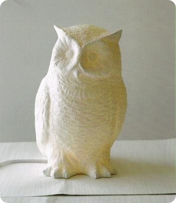 owl lamp willow