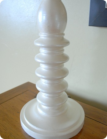 pearly lamp base