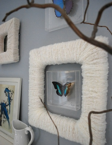 Diy Craft Yarn Wrapped Frames Centsational Style