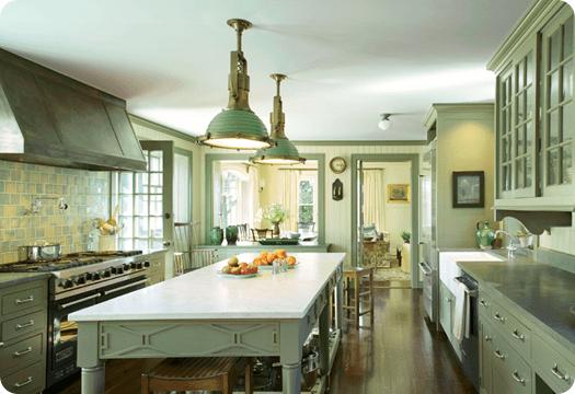 michael smith green kitchen