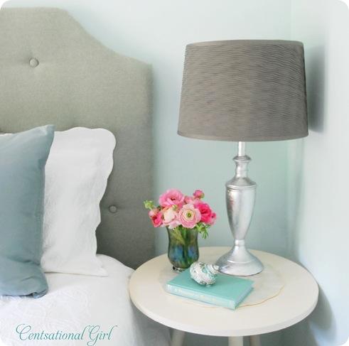silver leaf lamp