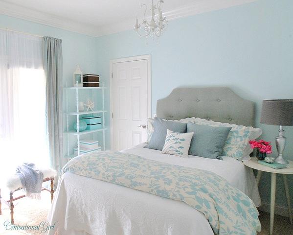 Turquoise Girl's Room: Project Breakdown