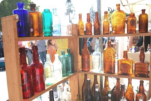 old rye bottles