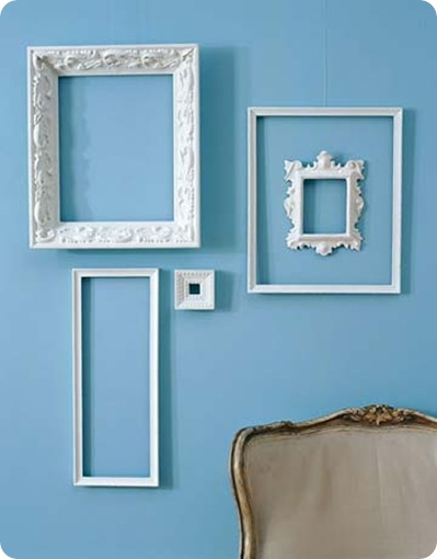 painting picture frames. Frugal Decorating Tip  1 Unite Frames with Paint Centsational Style