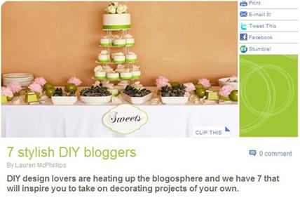 stylish diy bloggers
