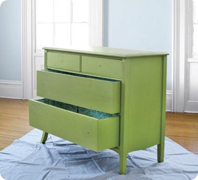 green dresser country living