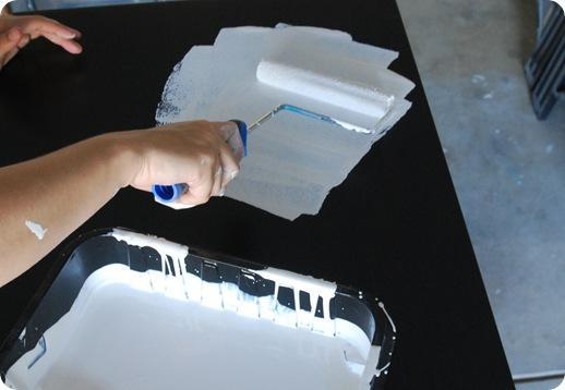 oil based primer foam roller