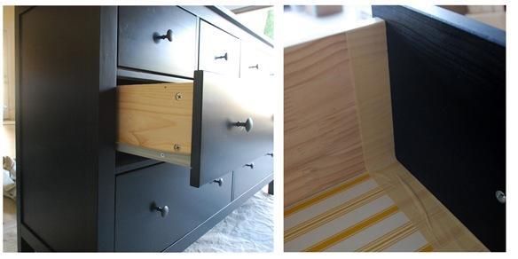 raw wood drawers