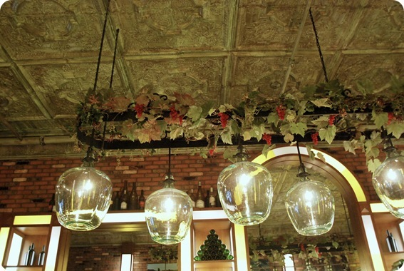ceiling and jugs