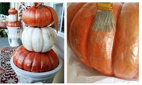 cg gilded pumpkins