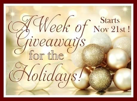 week of giveaways