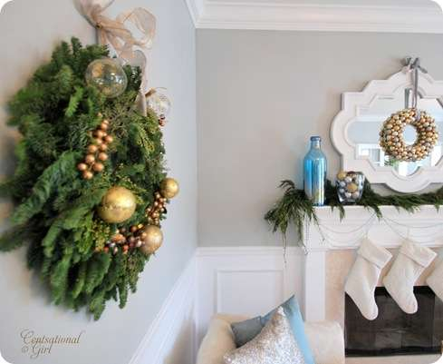 cg fresh wreath living room