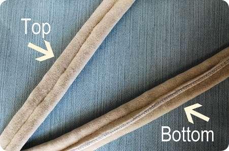 double welt top bottom arrow