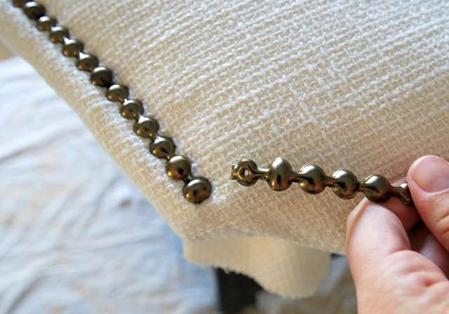 Upholstered Headboard with Nailhead Trim Revisited