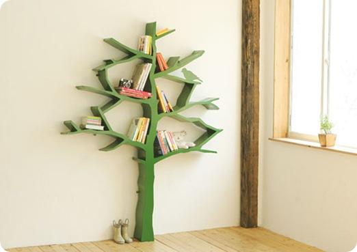tree bookshelf via design dazzle