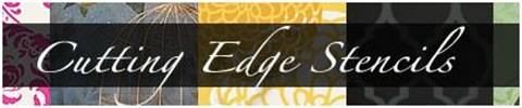 cutting edge stencils banner