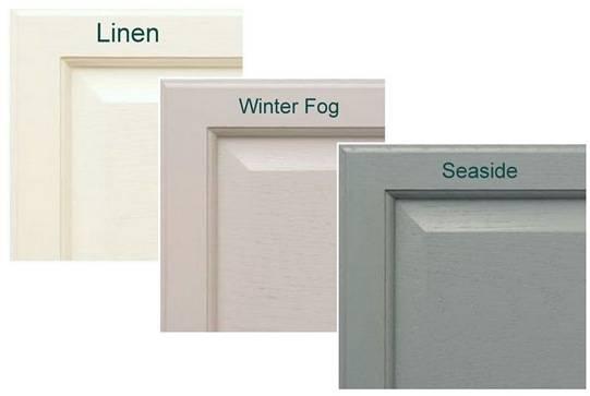 linen winter fog seaside