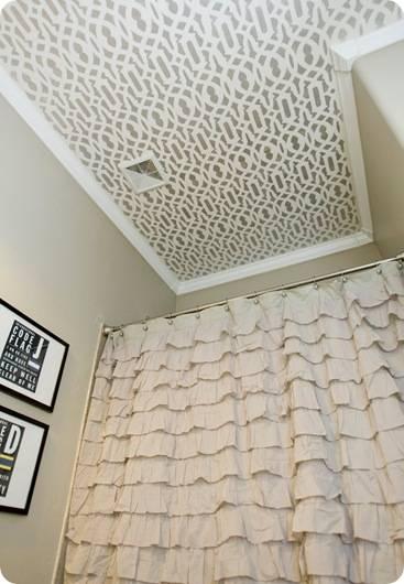 michelle stencil ceiling