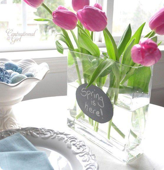 cg spring gray chalkboard vase 2
