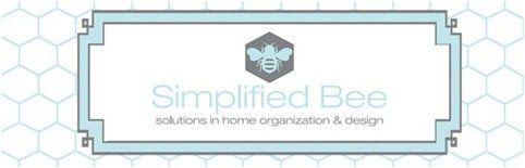 simplified bee banner