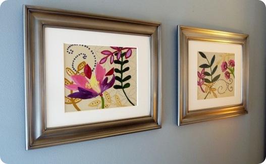 ballard floral paintings