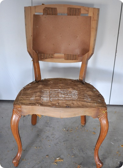 chair bare frame