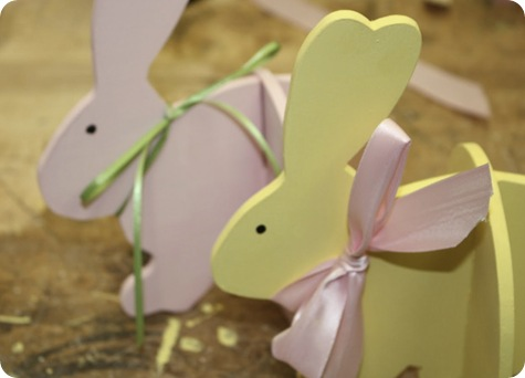 diy easter bunnies