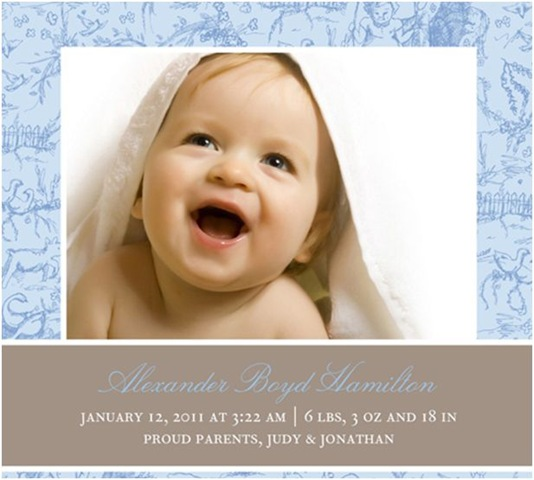 Shutterfly Birth Announcements Coupon: Get up to a 40% discount on photo birth announcements in the current sale at 0zu1.gq Create custom birth announcements that are (almost) as original as your new arrival when you choose from a wide selection of classic, vintage, and modern designs. You can also search by baby boy, baby girl, or [ ].