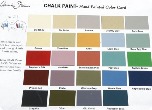 chalk paint colors