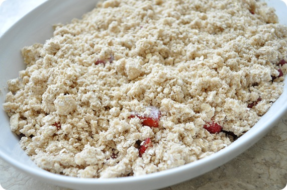 crumble before