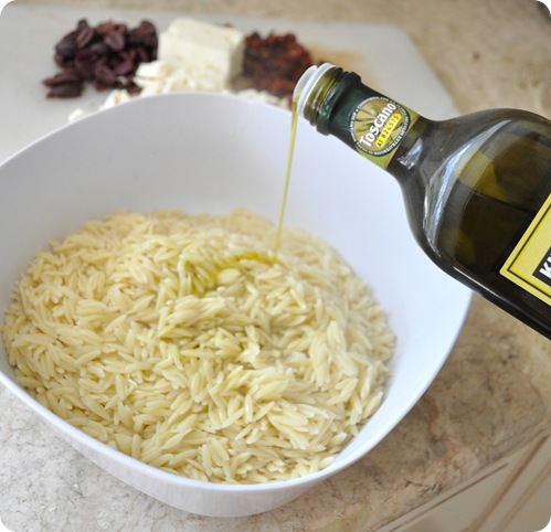 drizzle with olive oil