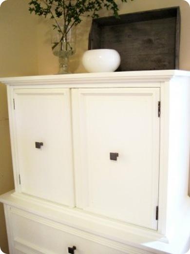 foyer cabinet makeover kimba