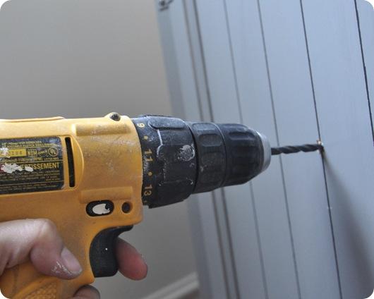 drill new holes
