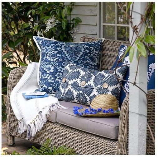 garden view cottage tumblr pillows