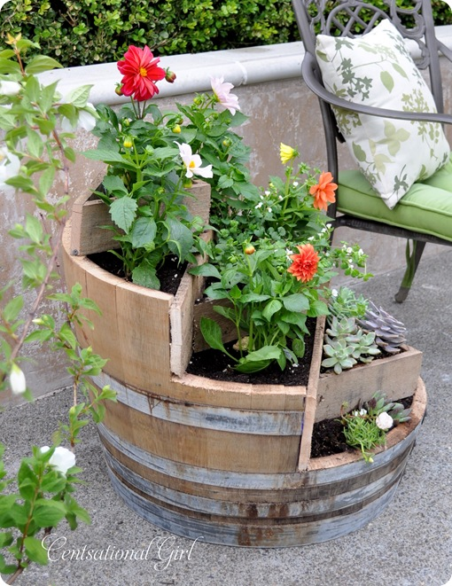 Vertical Barrel Garden