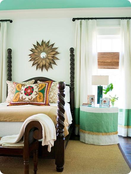 bhg sunburst above bed