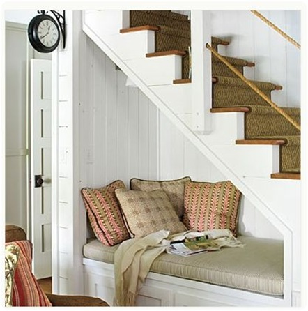 southern living reading nook