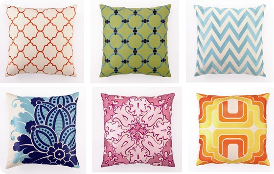 throw pillows inglenook