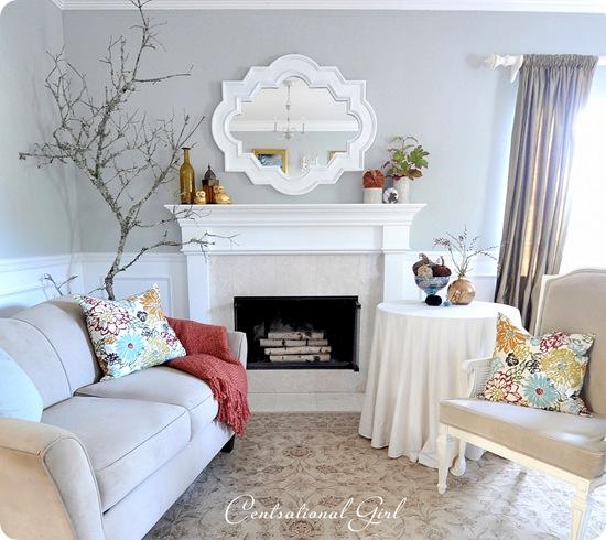 autumn living room cg